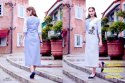 Rachna Linen Embroidery Work Stripes Catalog Kurti For Women 2