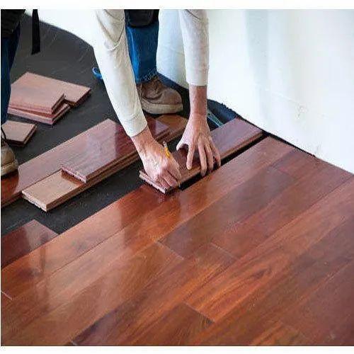 Laminated Wooden Flooring Service, in Mumbai, Rs 110 /square feet Rakesh  Enterprises | ID: 19052964962