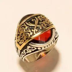 Sterling Silver 925 Turkish Men's Ring