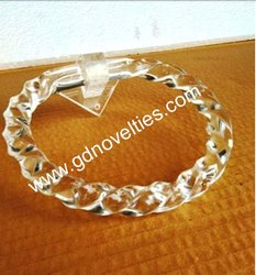 Acrylic Towel Ring Diamond