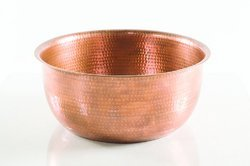 Copper Hammered Pedicure Bowl NJO-7514CP