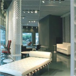 Expanded Metals Interior Decorating Screen