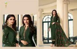 Party Wear Vinay Fashion Silkina Royal Crepe Vol Salwar Suit
