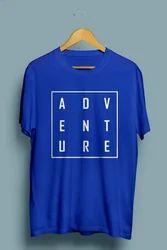 Adventure Mens Round Neck T Shirt