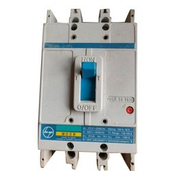 L & T DH 140 Electric MCCB,Number Of Poles: 3 ,Rated Current: 160 Amp