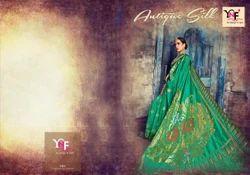 Antique Silk Designer Nylon Silk Saree