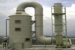 FRP Gas Scrubber