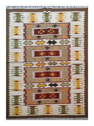 Handmade Persian Pile Wool Kilim Rug For Home