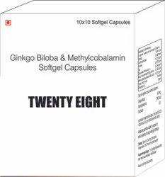 Ginkgo Biloba & Methylcobalamin