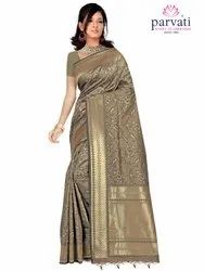 Party Wear Art Silk Saree By Parvati Fabric