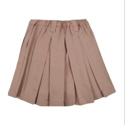 Plain Girls School Skirt