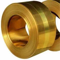 Brass Strip Coil, 0.10 mm - 3.00 mm, Shape:Rectangular