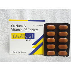 Dollcal Calcium Magnesium Zinc Vitamin D 3 Tablets