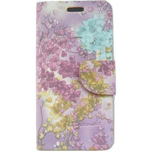 new concept 6d969 c2298 Floral Printed Mobile Flip Cover