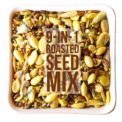 9-in-1 Roasted Seeds Trail Mix in Turmeric