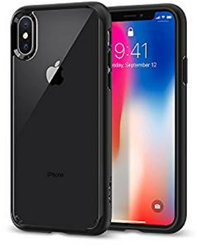 Matte Finish Back Case Cover for iPhone X