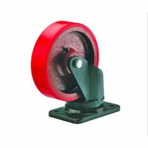 Round(wheel) PU Trolley Caster Wheel