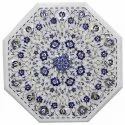 Marble Mosaic Inlay Dining Table Top