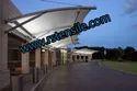 Tensile Walkway Structure
