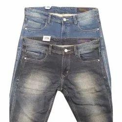 Casual Wear Button Mens Denim Jeans