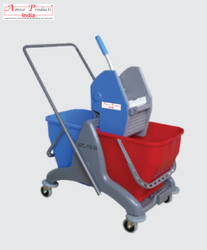 Double Bucket Wringer Trolley APC-119(30)
