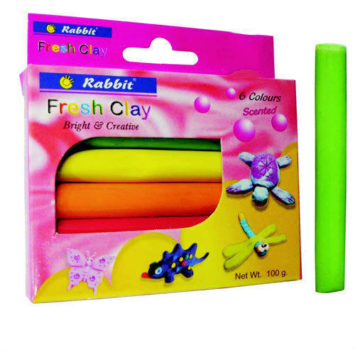 Rabbit Plasticine Modelling Clay, Packaging Type: Box ,Pack Type: 6 clay