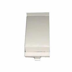 6 And 16 White Modular Switch, 220 V