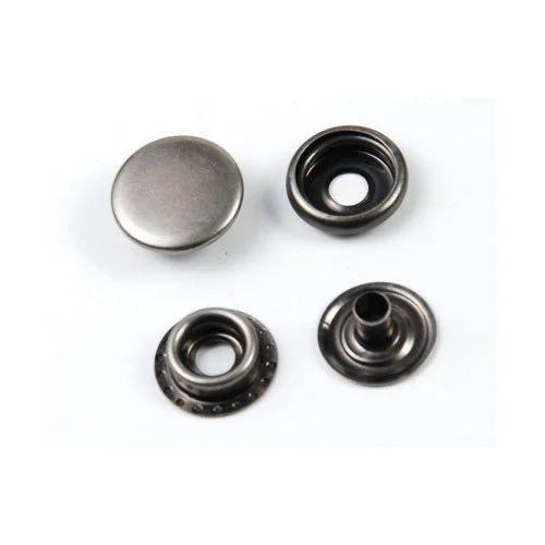 Snap Metal Button, Snap Buttons | Sri Nagar Garden, Delhi