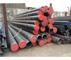 Silver Round And Square A333 Grade 6 Low Temperature Pipe, Size: 0-1 Inch And 1-2 Inch