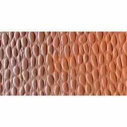 Brown Printed Leather, For Bag, Thickness: 1.0 Mm