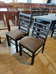 lrf Black Dining Chair, For Home, Set Size: Single
