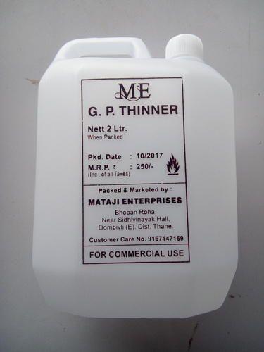 GP Paint Thinner, Usage: Commercial, Mataji Enterprises   ID