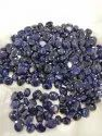 Natural Blue Sapphire Gemstone Diffused
