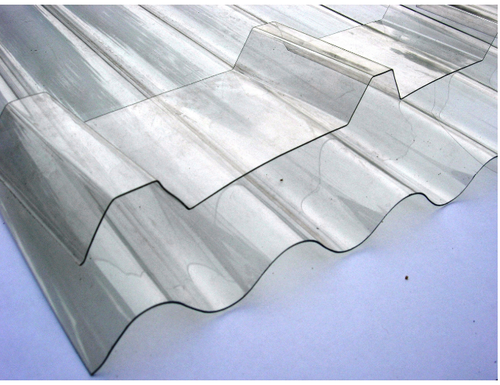 Corrugated Polycarbonate Sheets At Rs 1100 Square Meter