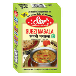 Star Masale Powder Sabzi Masala, Store In A Cool And Dry Place