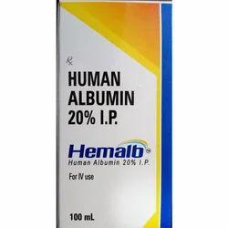 Hemalb Human Albumin 100ml
