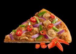 Spicy Chicken Overloaded Pizza