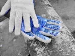 Heavy Dotted Gloves with Volcanic Grip