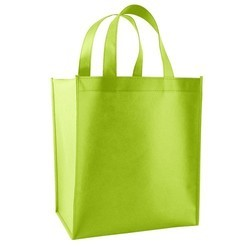 Green Loop Handle Bag, Capacity: 5 kg