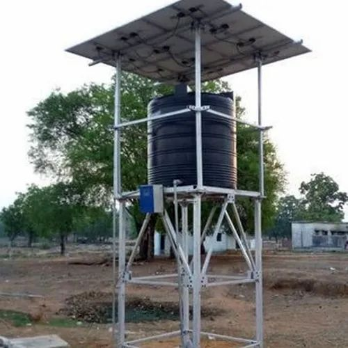 Single Phase 1 Hp Solar Submersible Pump Set For Govt