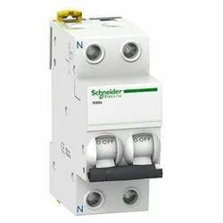 2 Pole Schneider Miniature Circuit Breaker Switch