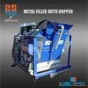 Block Machine with Metal Filler