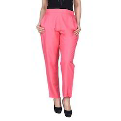 Ladies Cotton Pink Lower