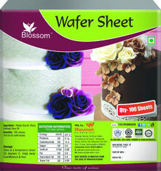 Wafer Sheet for Cake