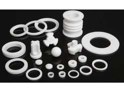 Ismat White PTFE Components For Industrial Use
