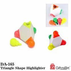 Giftmart Plastic Triangle Shape Highlighter