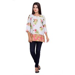 Casual Wear Crepe Top