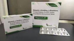 Silmyrin,L-Ornithin , L-Gluthione, N-Acetyl Cysteine, Co-Q10 Inositol,Antioxidant & Micronuterient
