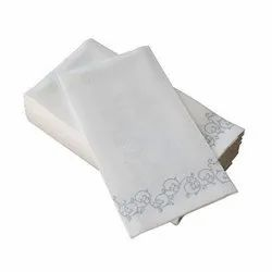 Cotton Embroidered Linen Napkins, For Kitchen, Size: 18 X 26
