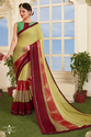 Multi Color Crepe Printed Casual Saree